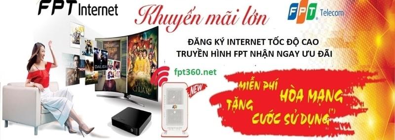 Khuyến mãi Internet - Truyền Hình FPT