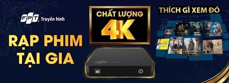 Đăng ký Truyền Hình FPT 4K Hà Nội