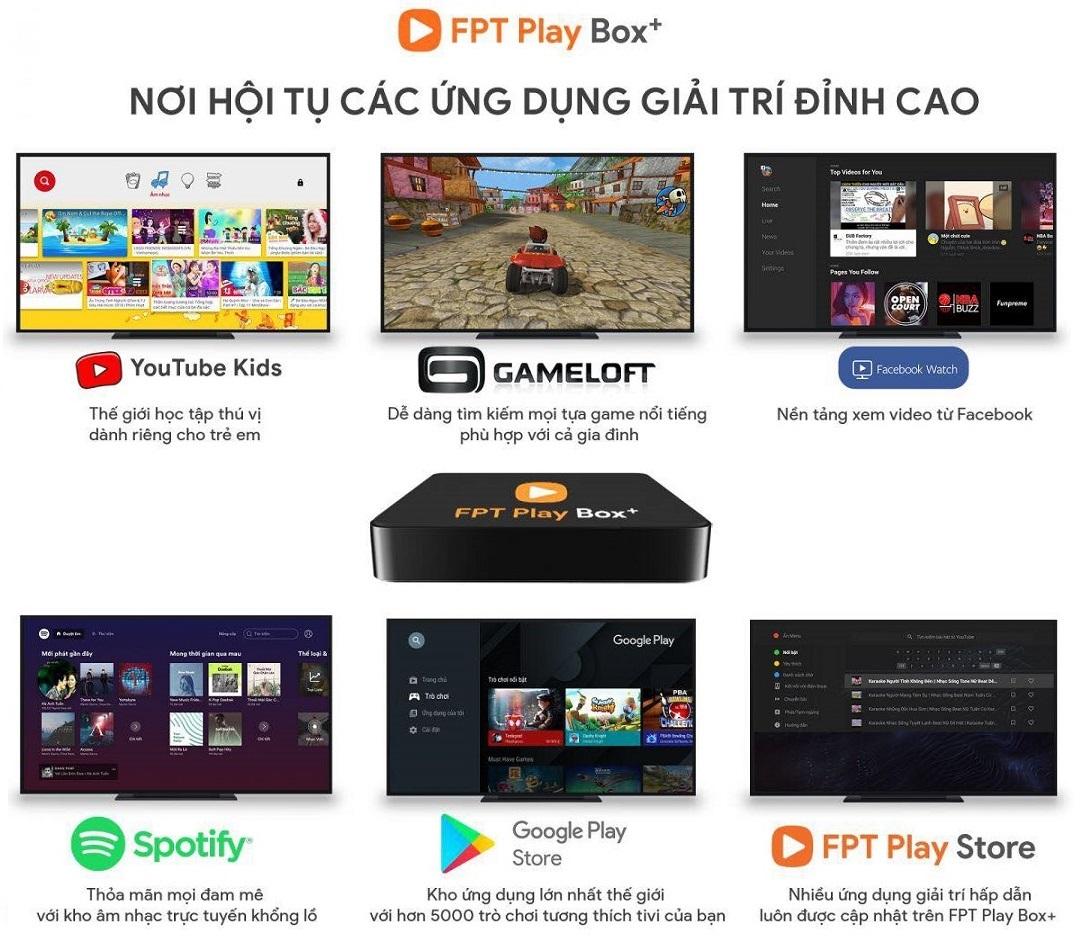 FPT Play Box - Kho Ứng Dụng Phong Phú