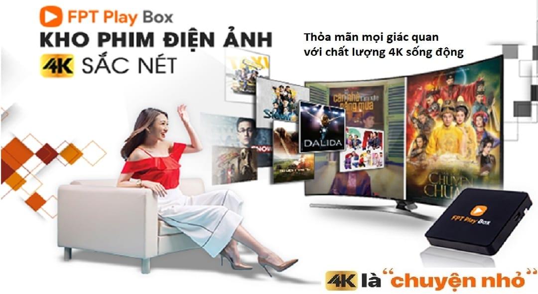 FPT Play Box - Kho phim 4K