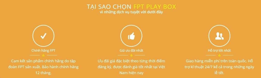 FPT Play Box - Tại sao nên chọn