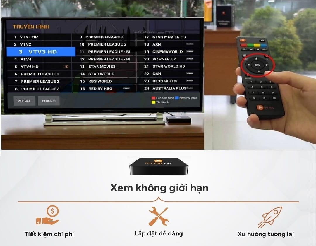 FPT Play Box – Truyền Hình 4K