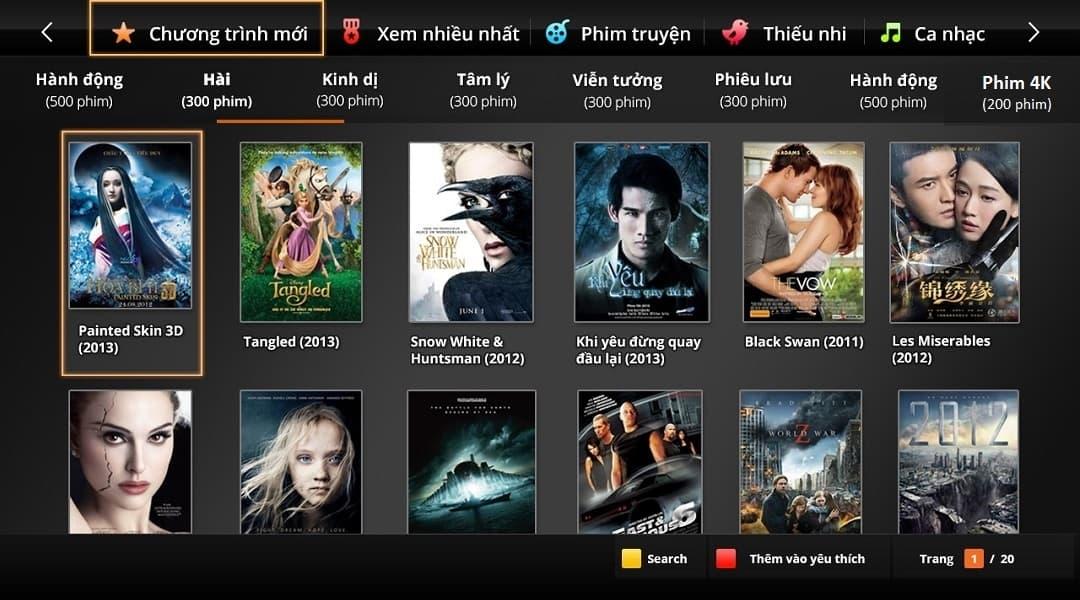 Truyền Hình FPT - Kho Phim Truyện